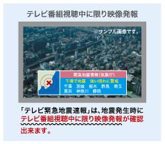 テレビ放送「NHK」のサンプル画像