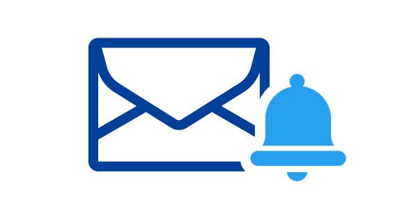 メール着信通知サービス